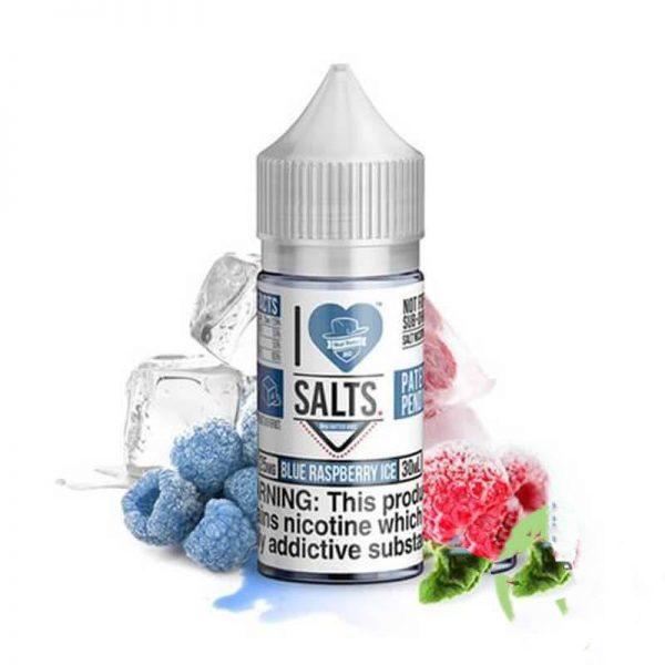 BLUE RASPBERRY ICE – I LOVE SALTS – MAD HATTER JUICE – 30ML