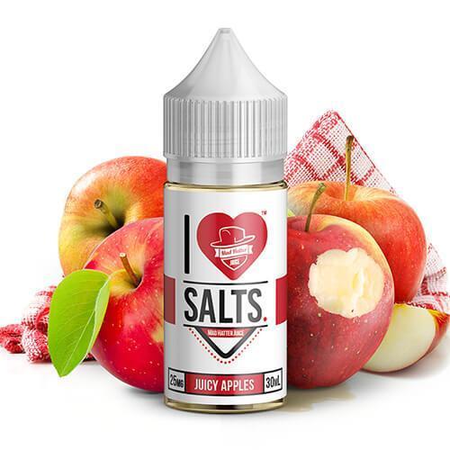 JUICY APPLES – I LOVE SALTS – MAD HATTER JUICE – 30ML