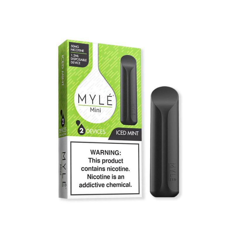 MYLÉ Mini Iced Mint Disposable Device in Dubai