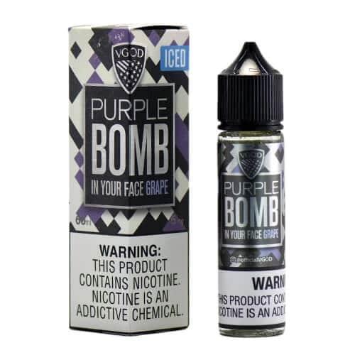 ICED PURPLE BOMB BY VGOD E-LIQUID 60ML