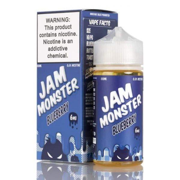 BLUEBERRY – JAM MONSTER LIQUIDS – 100ML