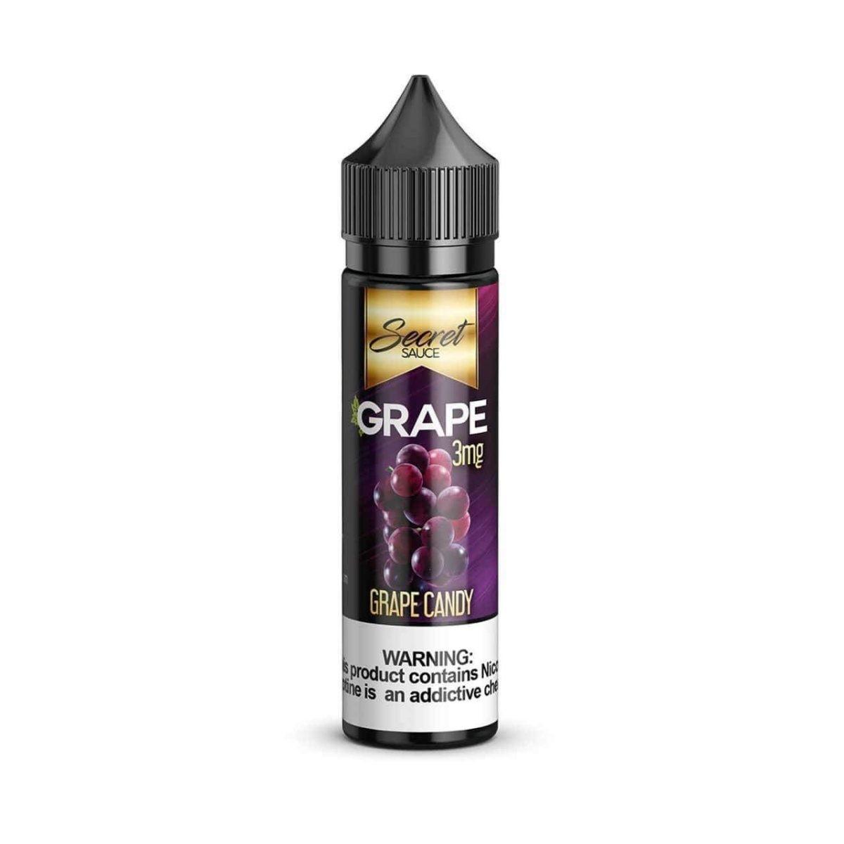 SECRET SAUCE E-LIQUID – GRAPE – 60ML