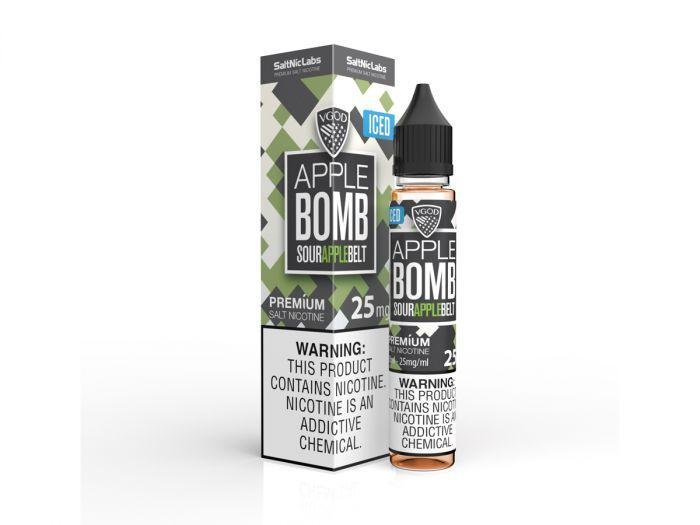 ICED APPLE BOMB – VGOD SALTNIC – 30ML