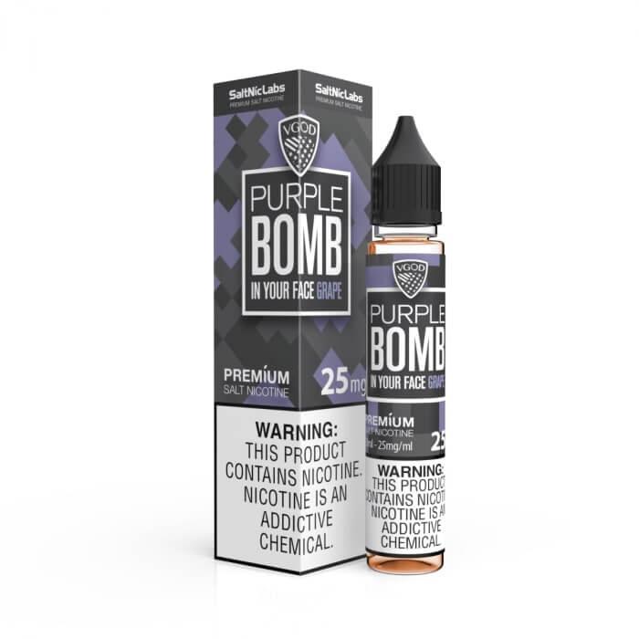 PURPLE BOMB BY VGOD SALTNIC 30ML