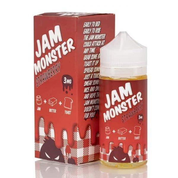 STRAWBERRY – JAM MONSTER LIQUIDS – 100ML