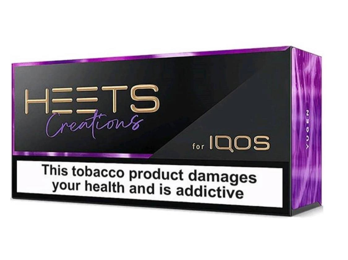 Heets Creation Yugen in Dubai/Uae – New Limited Edition Heated Sticks – Russian