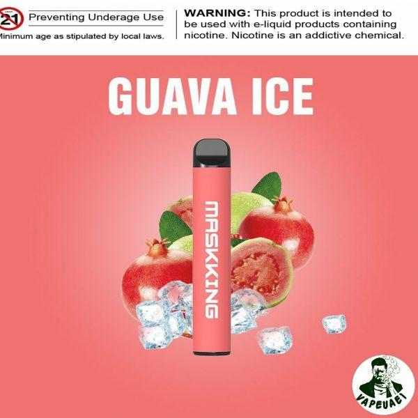 MASKKING GUAVA ICE POD IN DUBAI/UAE