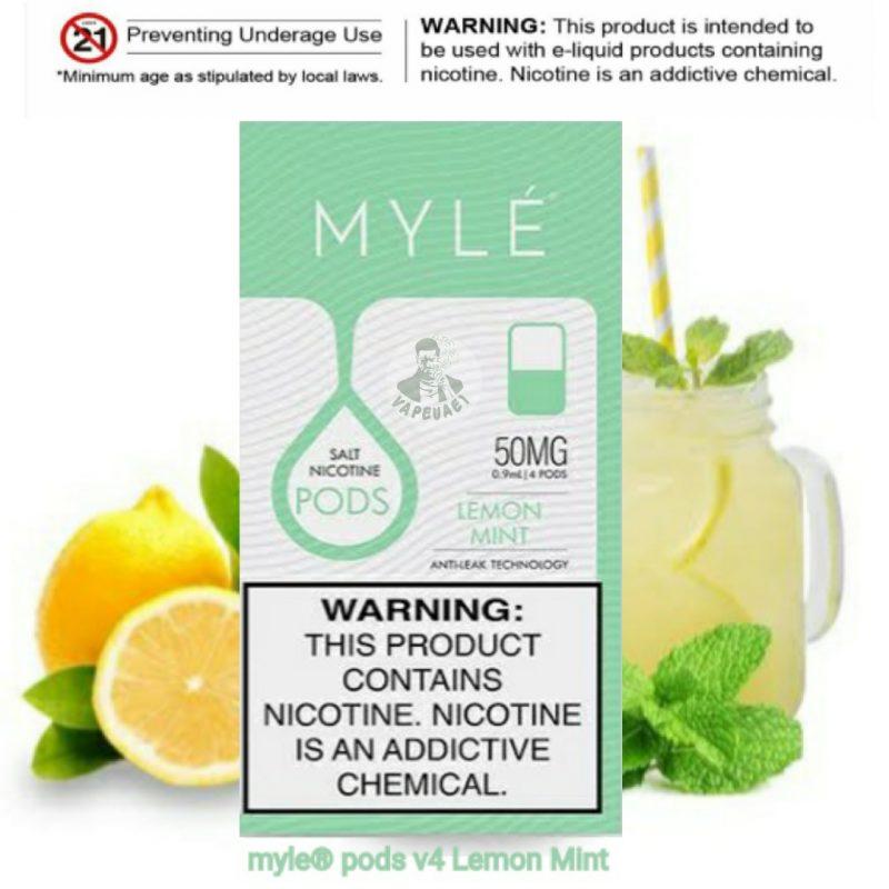 Lemon Mint MYLÉ Pod V4