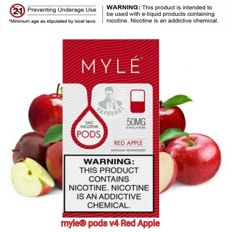 Red Apple MYLÉ Pod V4