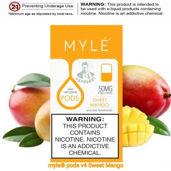 Sweet Mango MYLÉ Pod V4