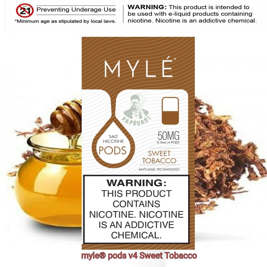Sweet Tobacco MYLÉ Pod V4