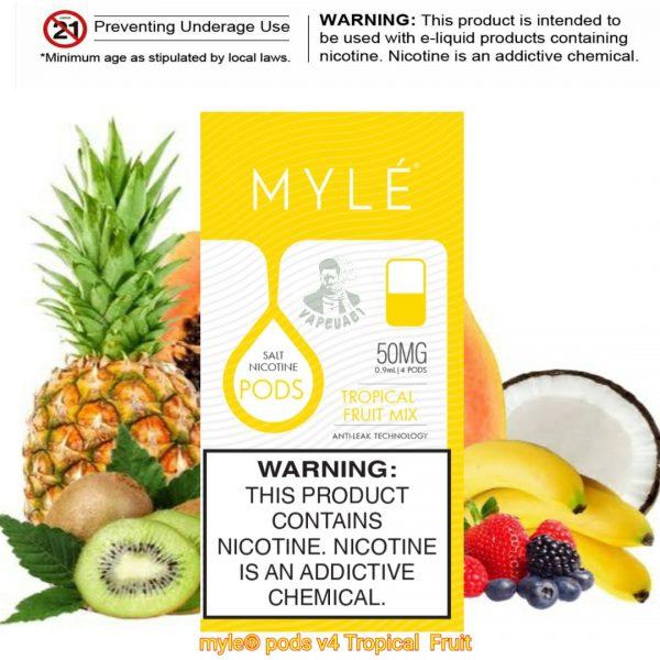 Tropical Fruit Mix MYLÉ Pod V4