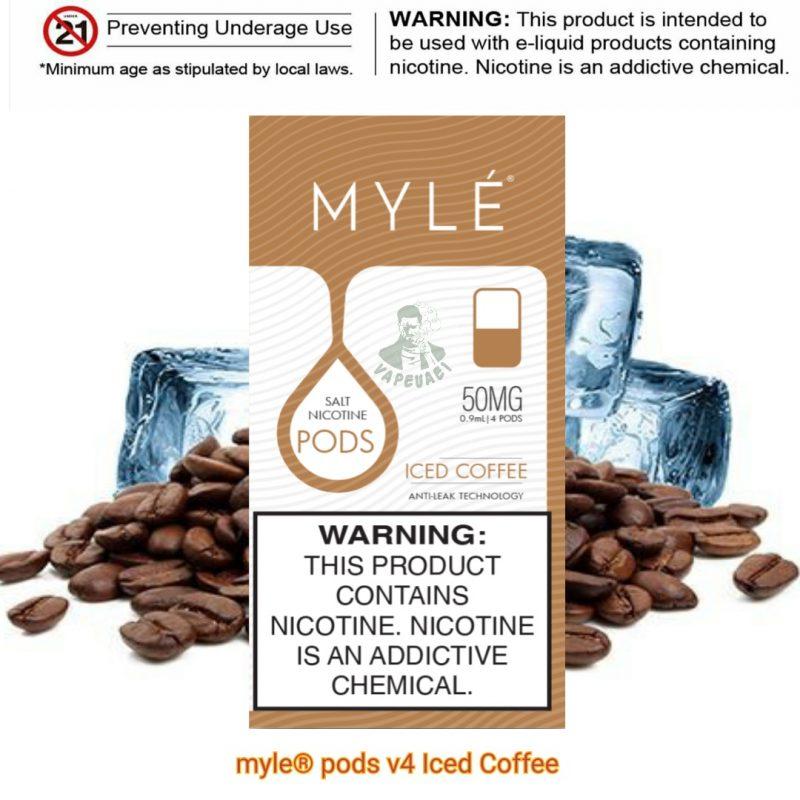 Iced Coffee MYLÉ Pod V4