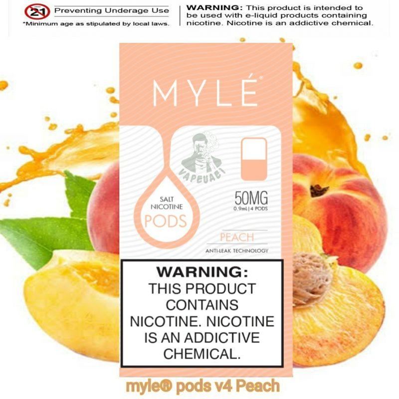 Peach MYLÉ Pod V4