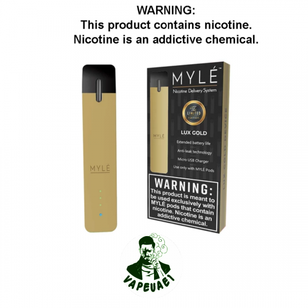MYLE DEVICE – LUX GOLD