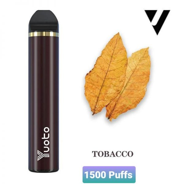 Yuoto 5 Disposable Vape Device 1500 Puffs Tabacco Flavour