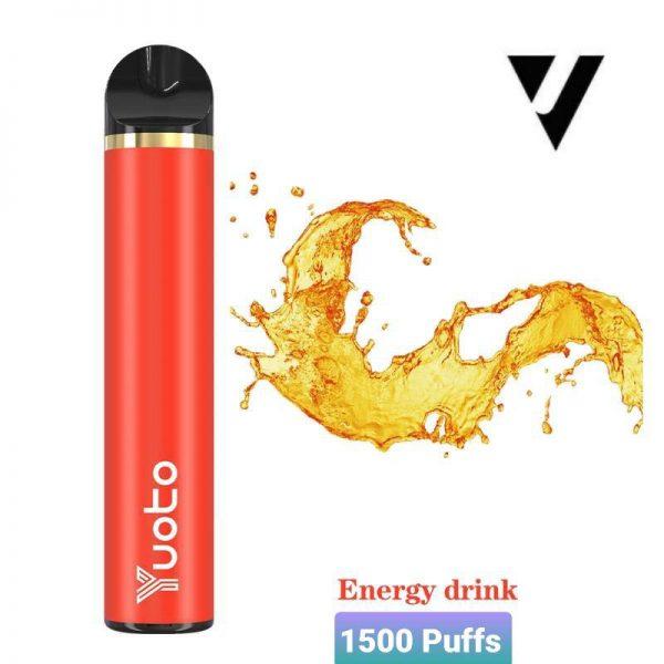 Yuoto 5 Disposable Vape Device 1500 Puffs Coke ice