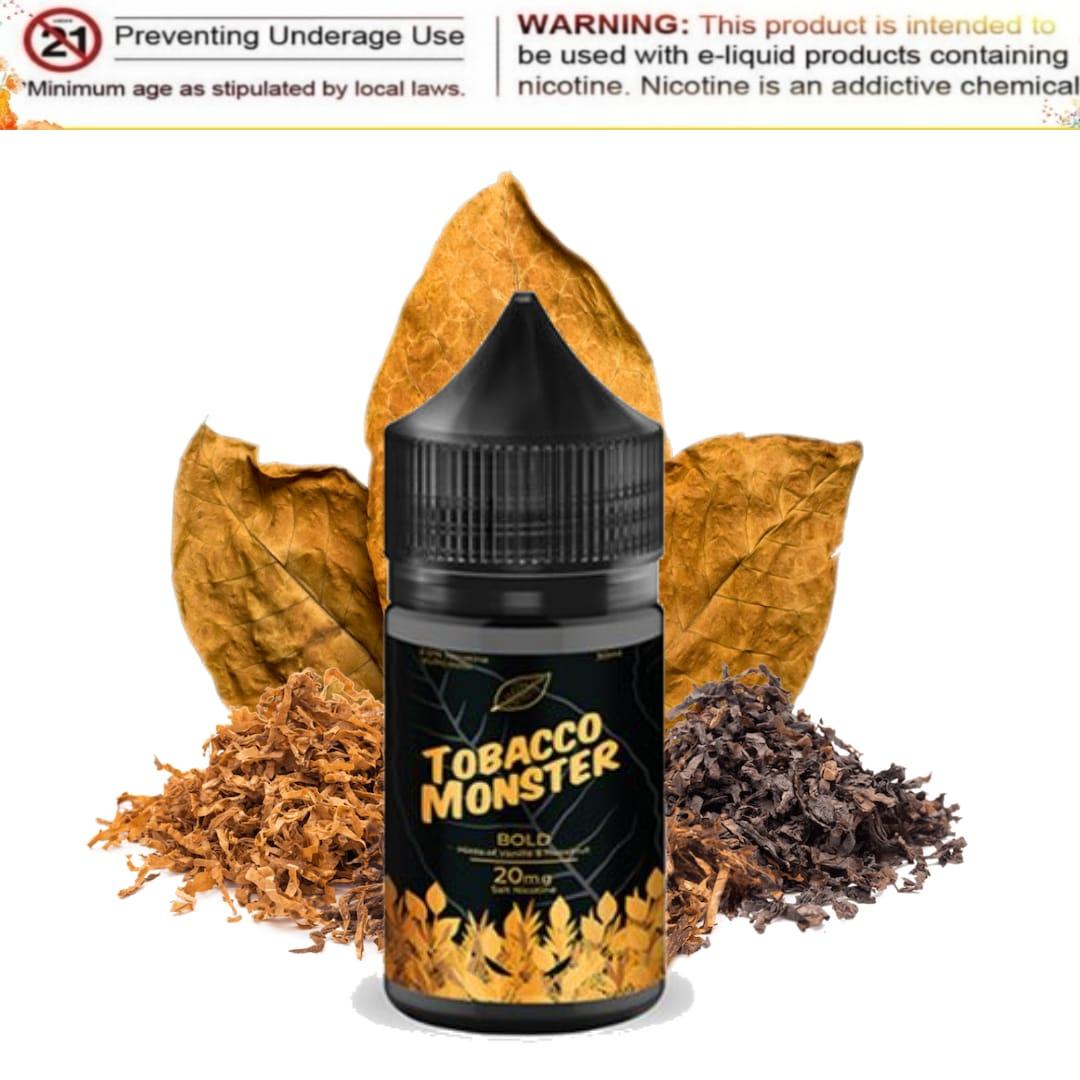 Bold (Salt Nic) - Tobacco Monster - 30mL