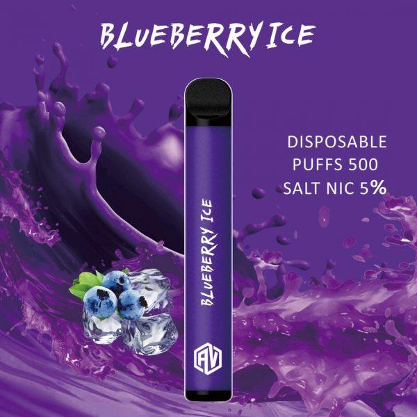 AV Disposable Pod System blueberry ice