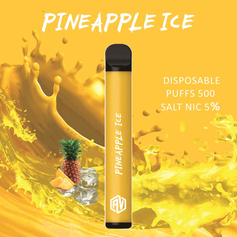 AV Disposable Pod System pineapple ice