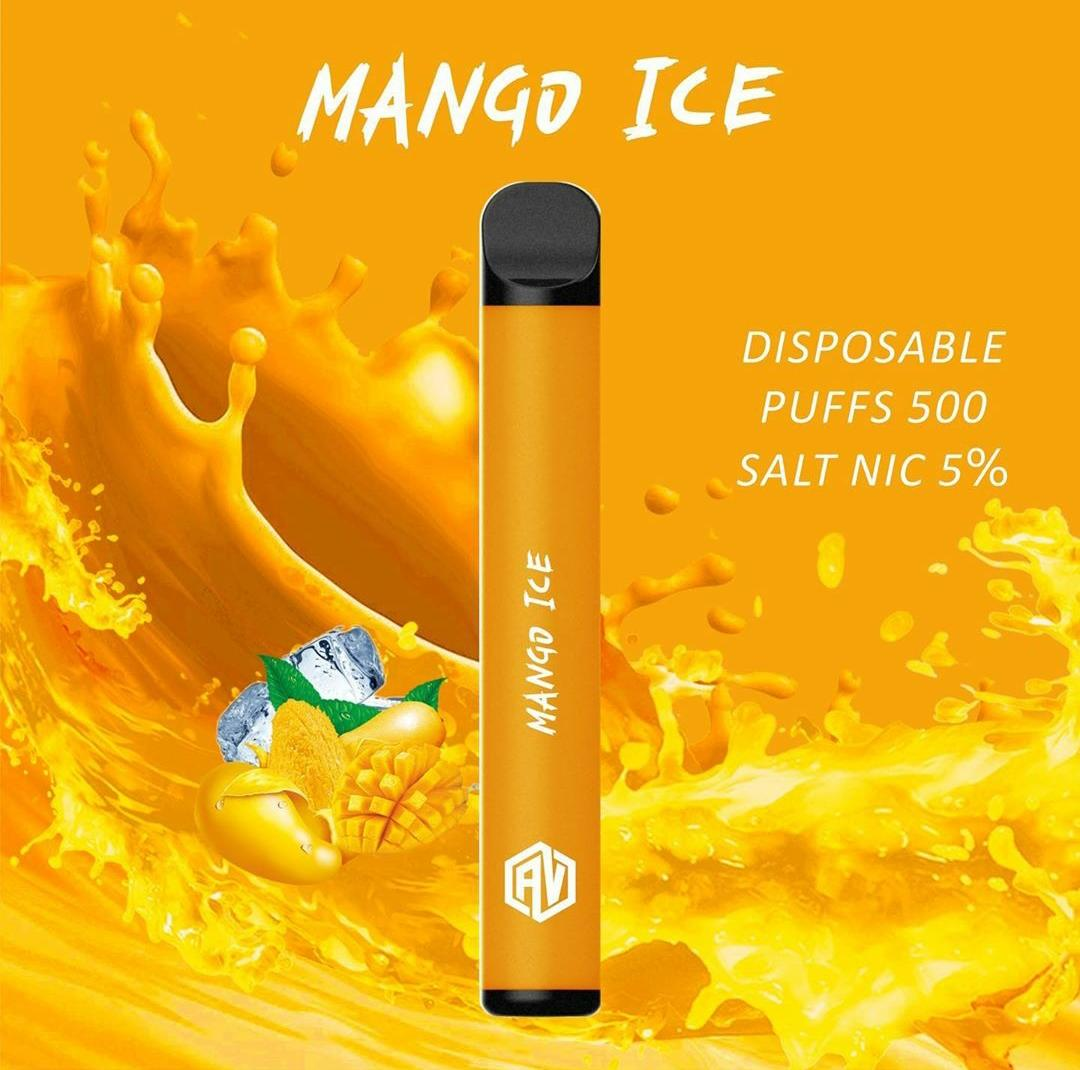 AV Disposable Pod System mango ice