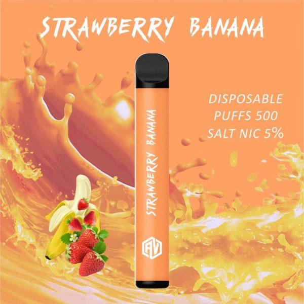 AV Disposable Pod System strawberry banana
