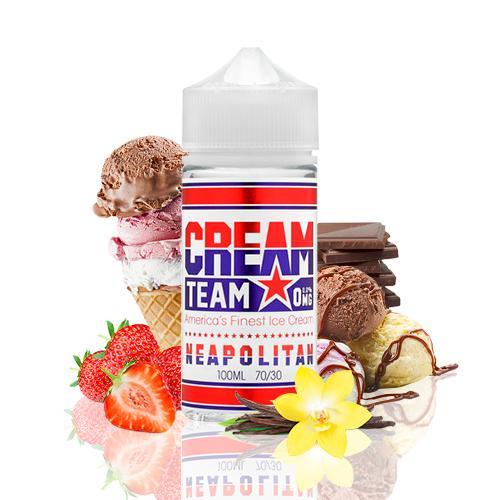 Neapolitan by Cream Team E-Liquid - 100mL