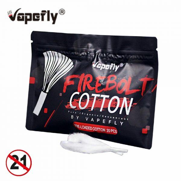 High Quality VAPEFLY FIREBOLT COTTON – 20PCS