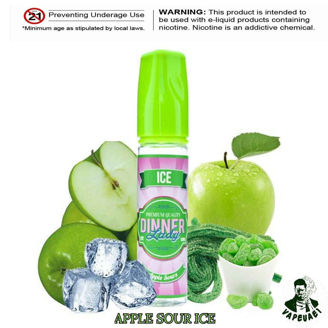 APPLE SOURS ICE BY DINNER LADY