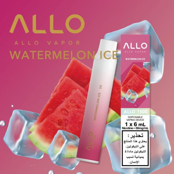 WATERMELON ICE BY ALLO 1500 DISPOSABLE