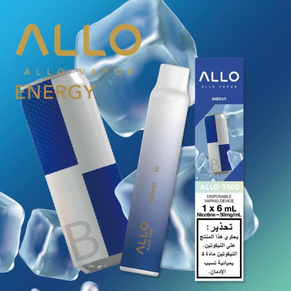 Best ENERGY BY ALLO DISPOSABLE 1500 PUFFS