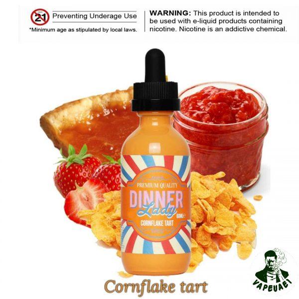 CORNFLAKE TART BY DINNER LADY