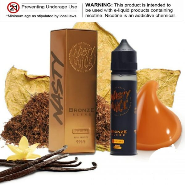 Bronze Blend E-liquid by Nasty Juice Tobacco 60ml