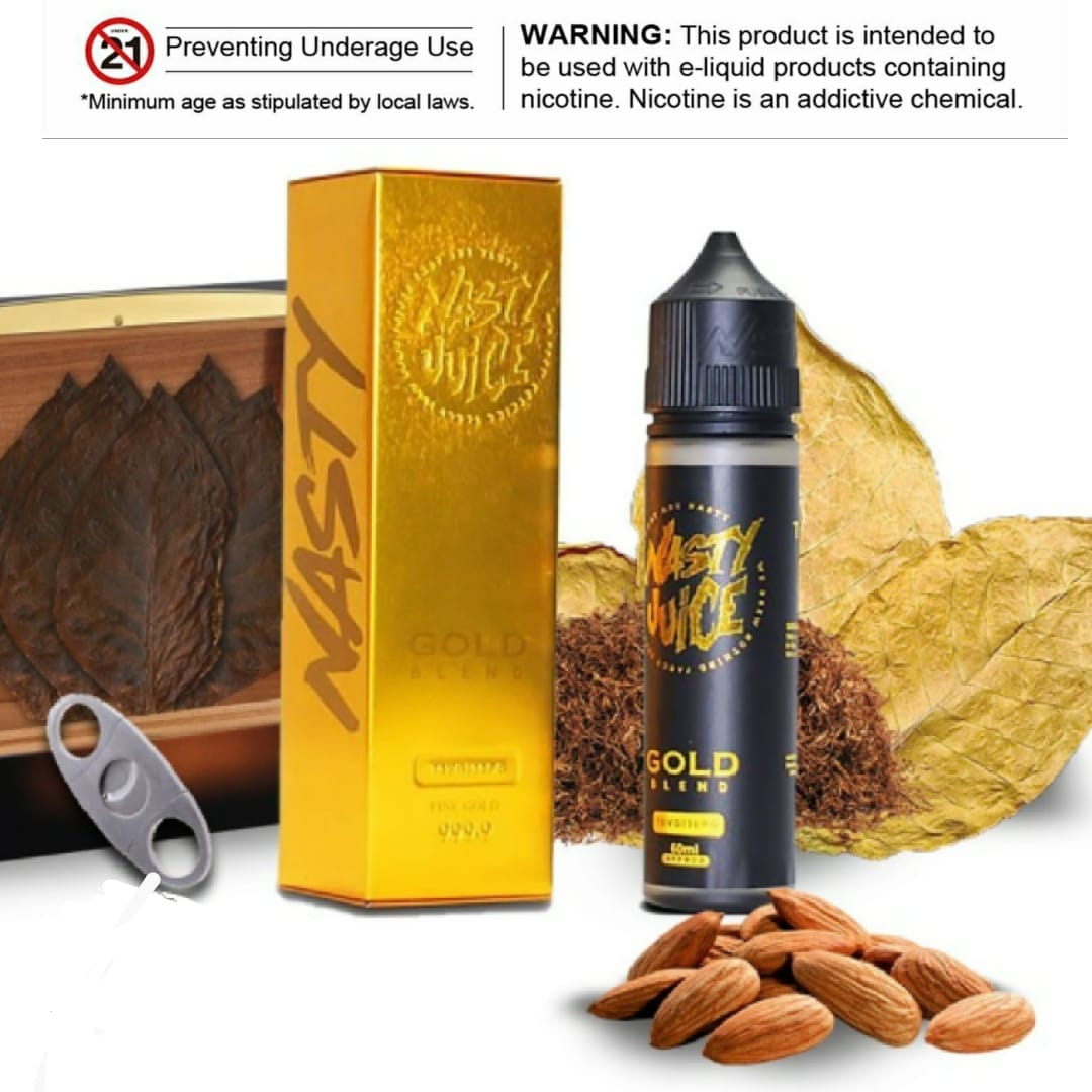 Gold Blend E-liquid by Nasty Juice Tobacco 60ml