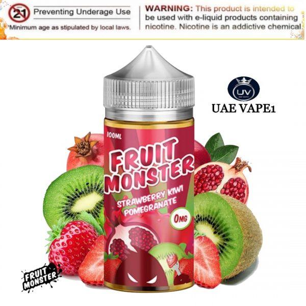 Fruit Monster Strawberry Kiwi Pomegranate 100ml