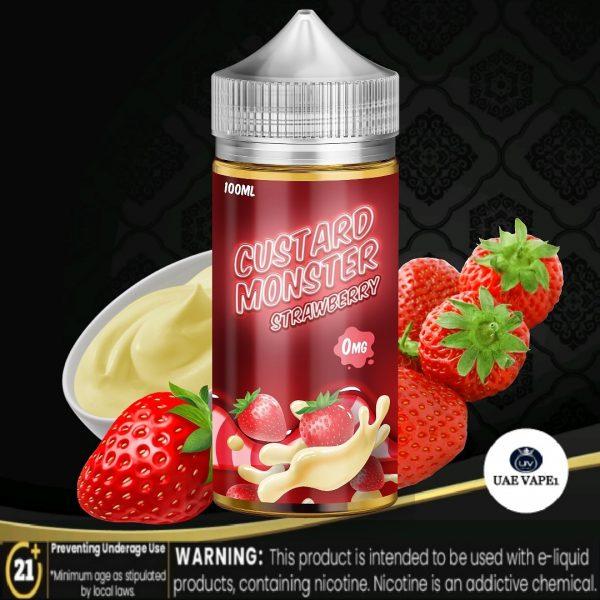 Custard Monster E Liquid Strawberry 100ml