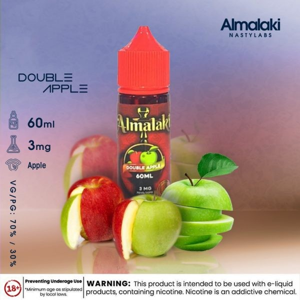 Double Apple by AlMalaki 60ML