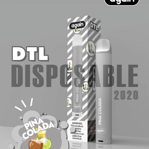 Again Dtl disposable Pina Colada