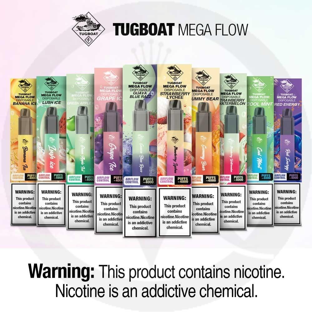 Tugboat Mega Flow Disposable