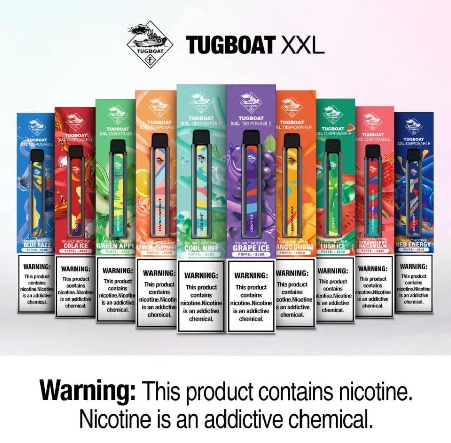 tugboat xxl disposable pods