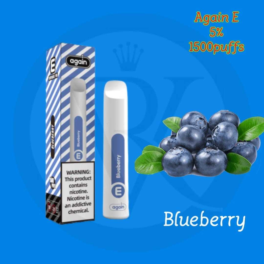 Again E disposable pod Blueberry