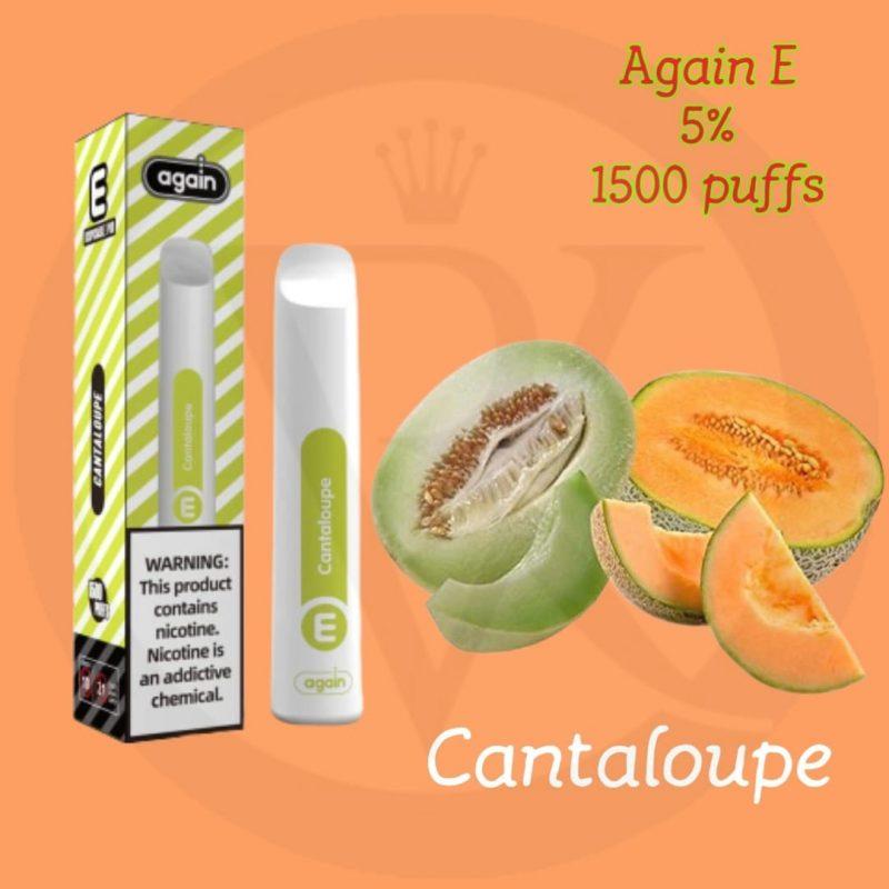 Again E disposable pod CantaloupeAgain E disposable pod Cantaloupe