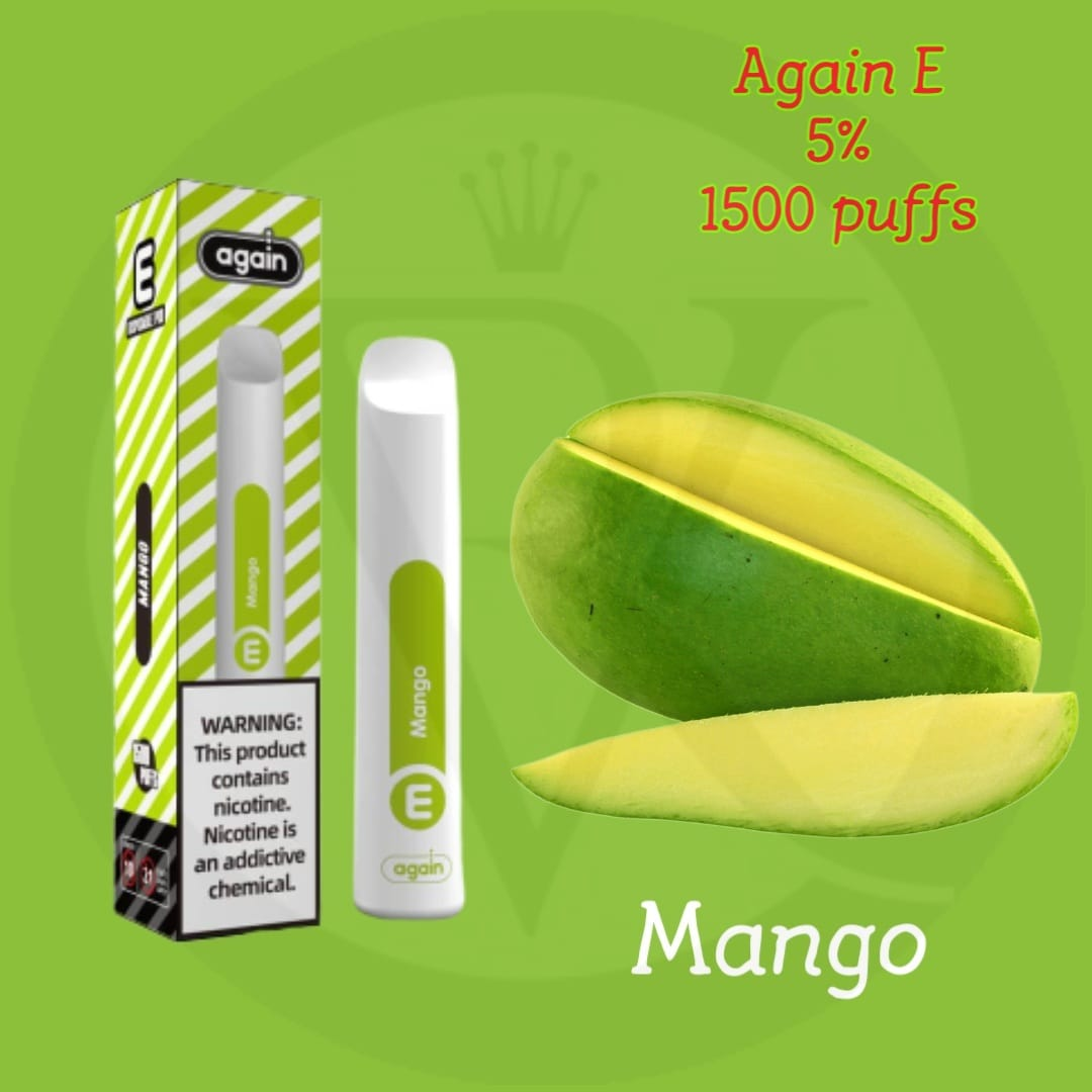 Again E disposable pod Mango