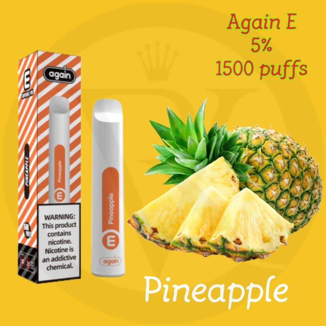 Again E disposable pod Pineapple