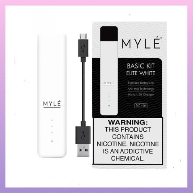 Myle kit v4 elite white