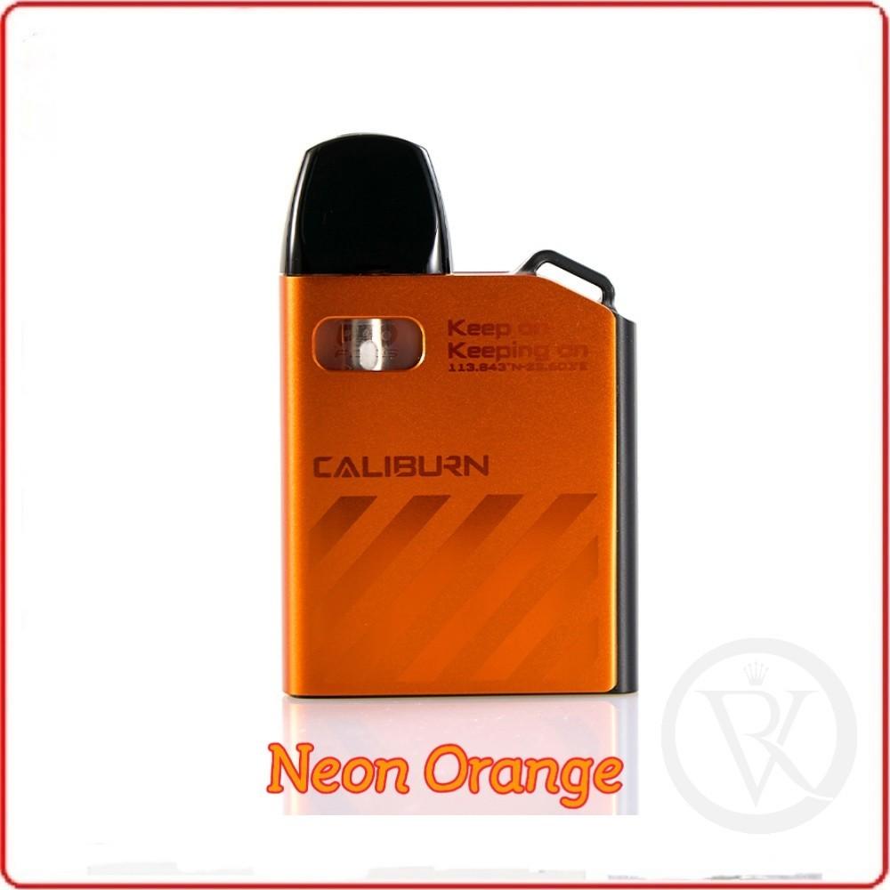 uwell caliburn ak2 15w 520mah pod system vape starter kit Neon Orange