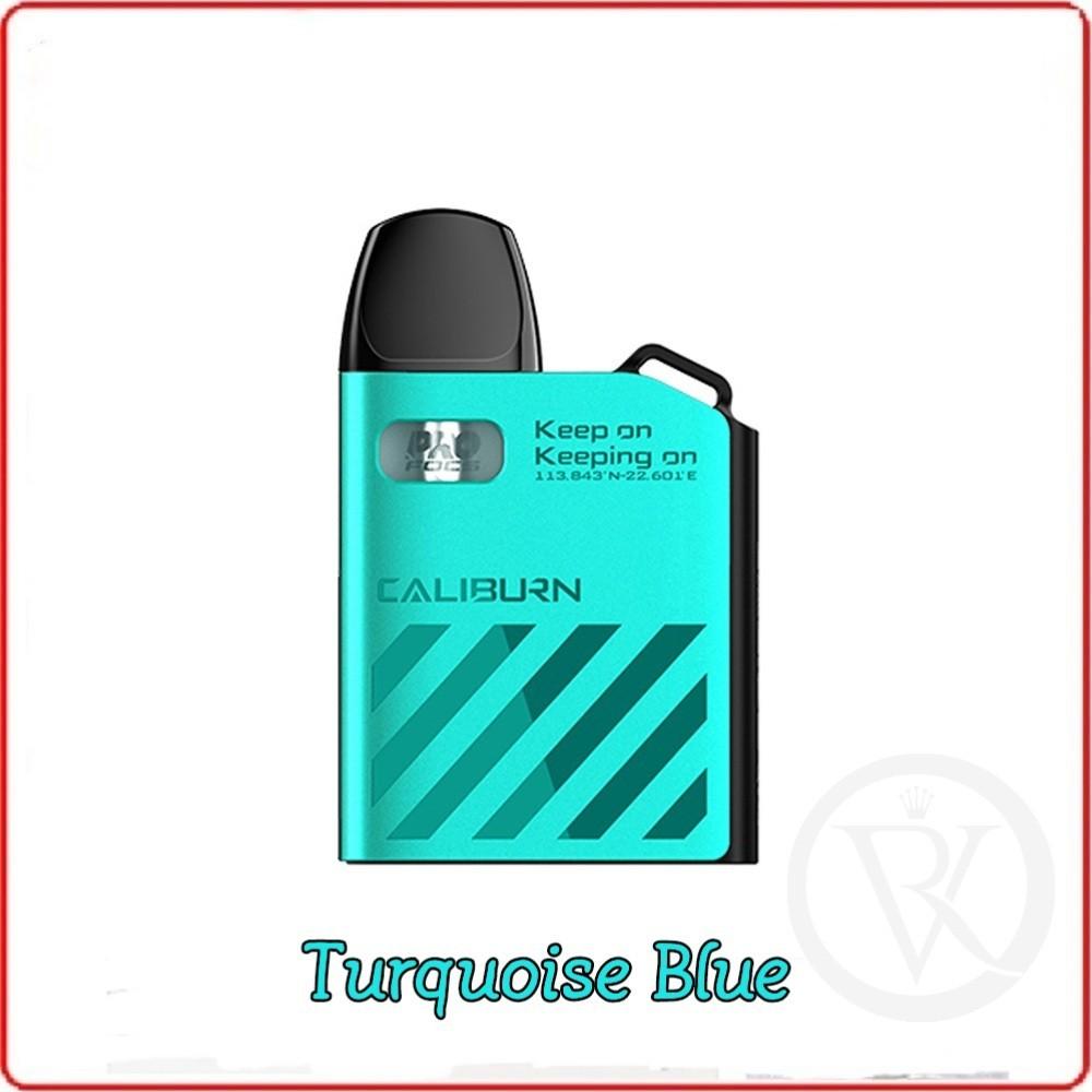 uwell caliburn ak2 15w 520mah pod system vape starter kit Turquoise Blue